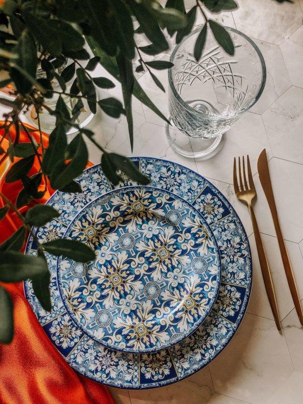 Azur pusdienu šķīvis
