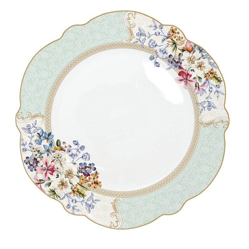 Flora pusdienu šķīvis