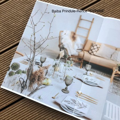 Clouds šķīvji + Zeltīti galda piederumi + Soho glāzes / Baiba Prindule-Rence, Linda Lauva