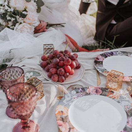 Garden sērijas ziedu šķīvji + Berry glāze / Kristīne Žukure