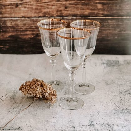 Glāze ar zelta Maliņu Versaille
