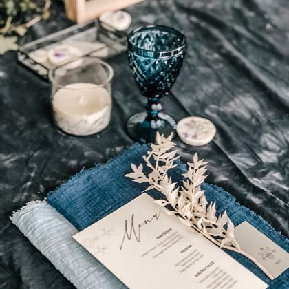 Royal zilas glāzes / Baiba Prindule-Rence